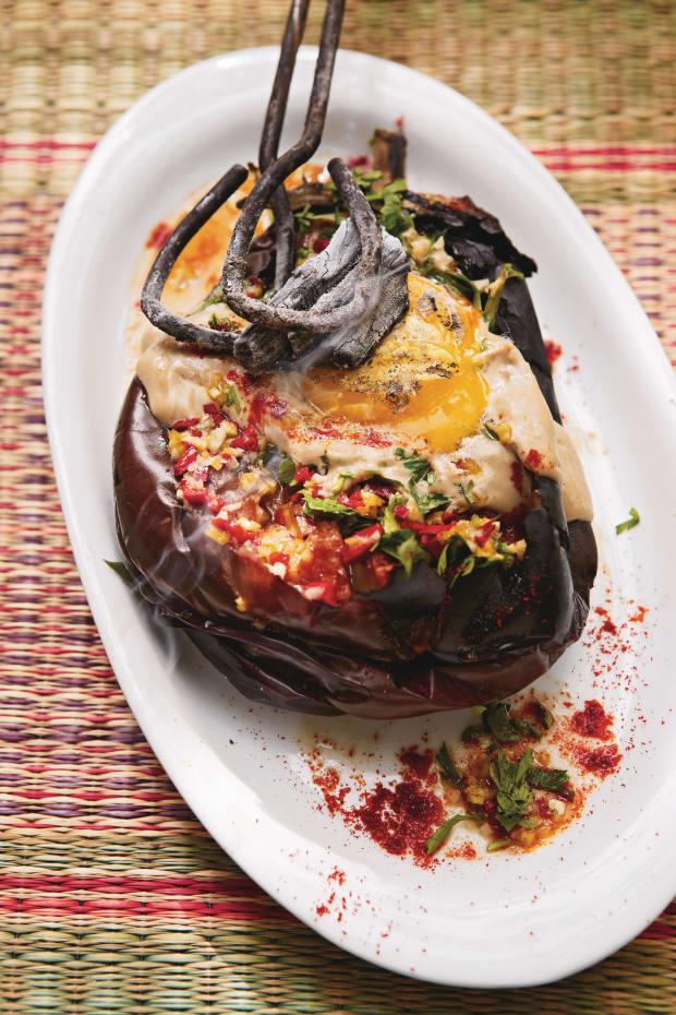 Burn Eggplant Honey and Co
