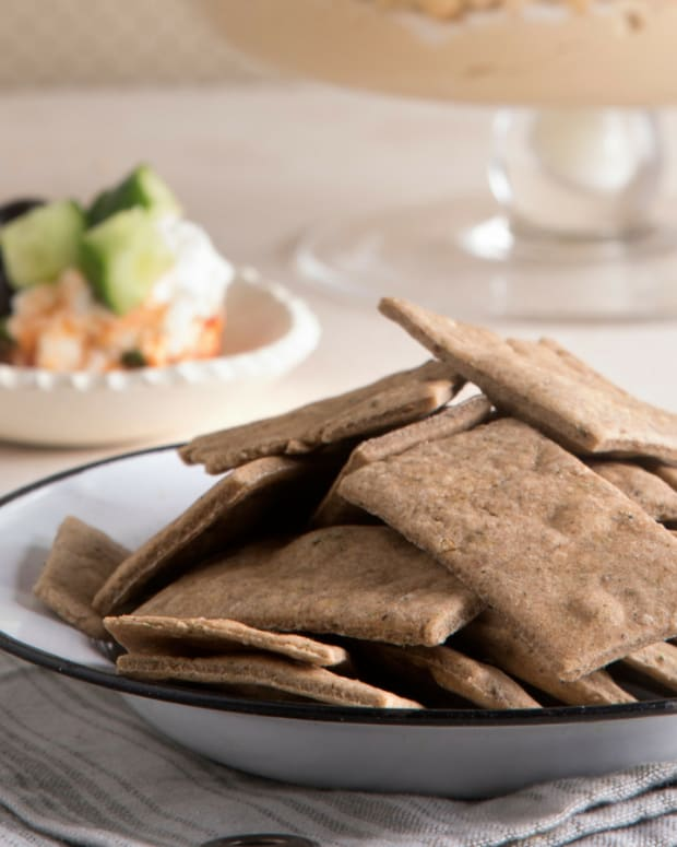 zaatar crackers