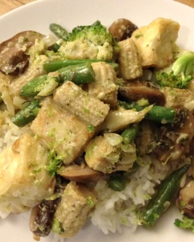 Vegetable and Tofu Thai Curry