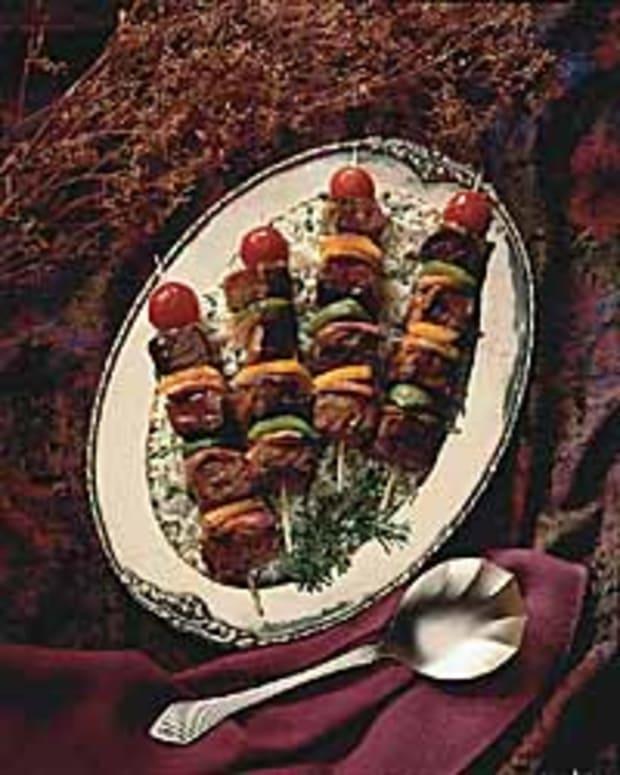 Oriental Beef Kabobs