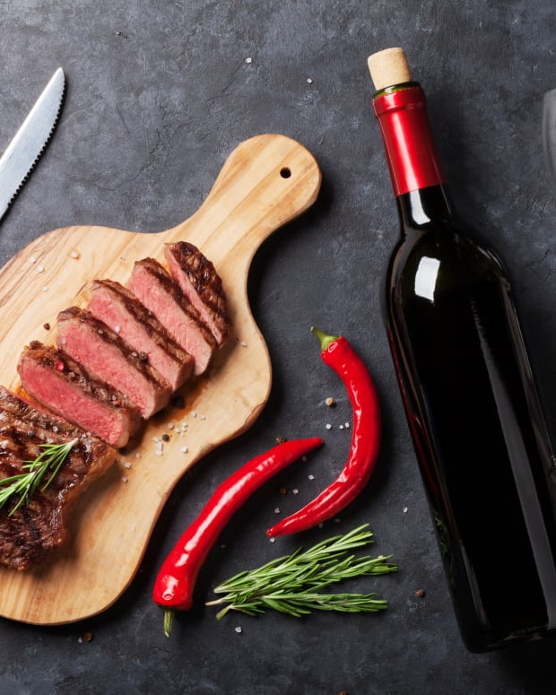 Pairing wine with steak