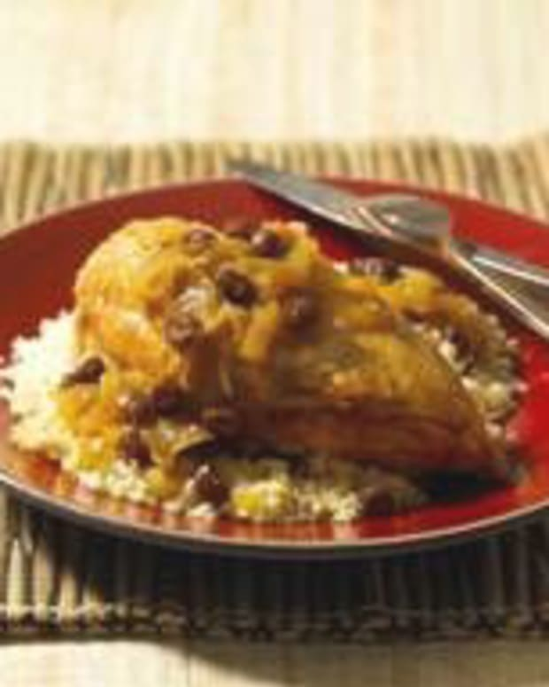North African Braised Chicken