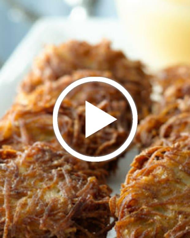 the best potato latkes