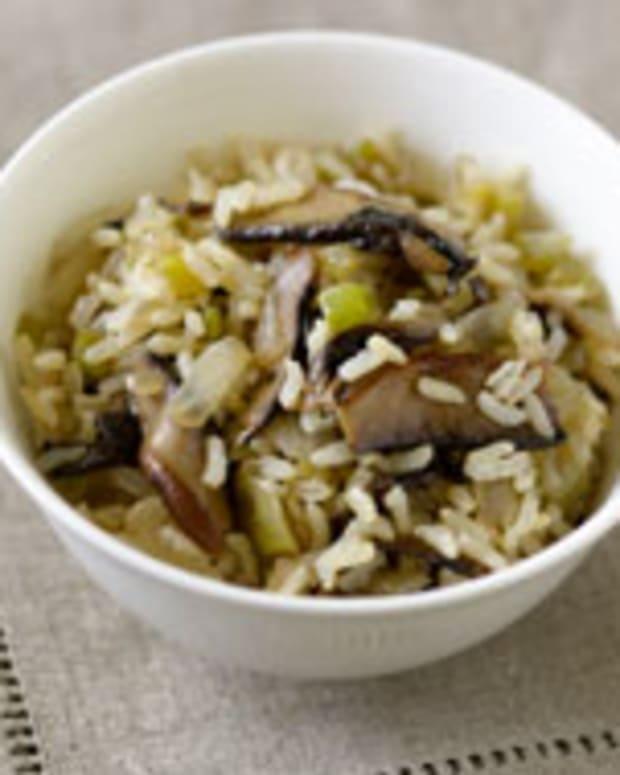 Savory Brown Rice
