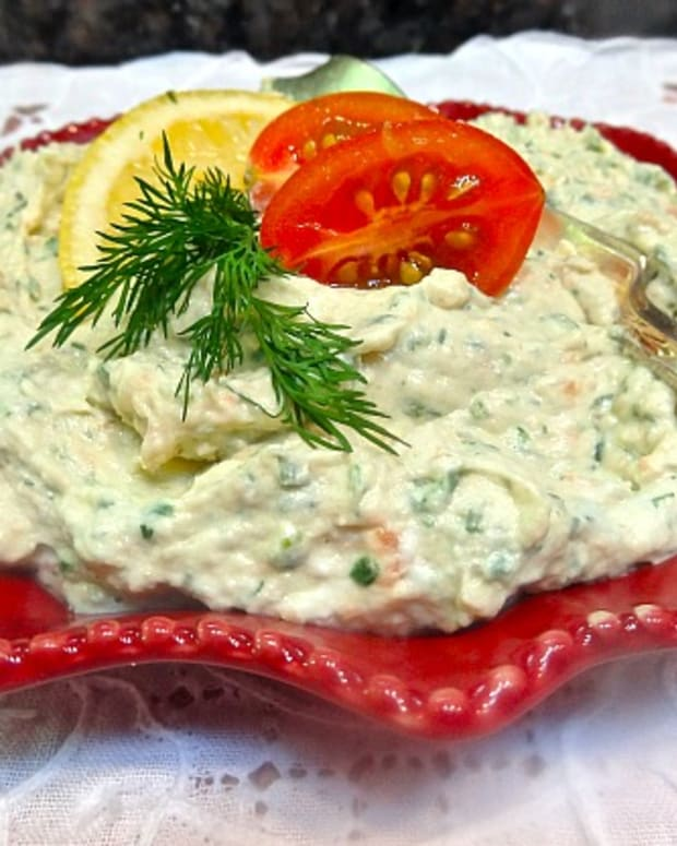 salmon and dill cream cheese pate