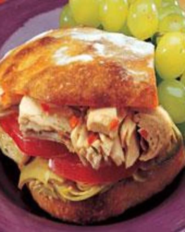 Albacore Artichoke Sandwiches