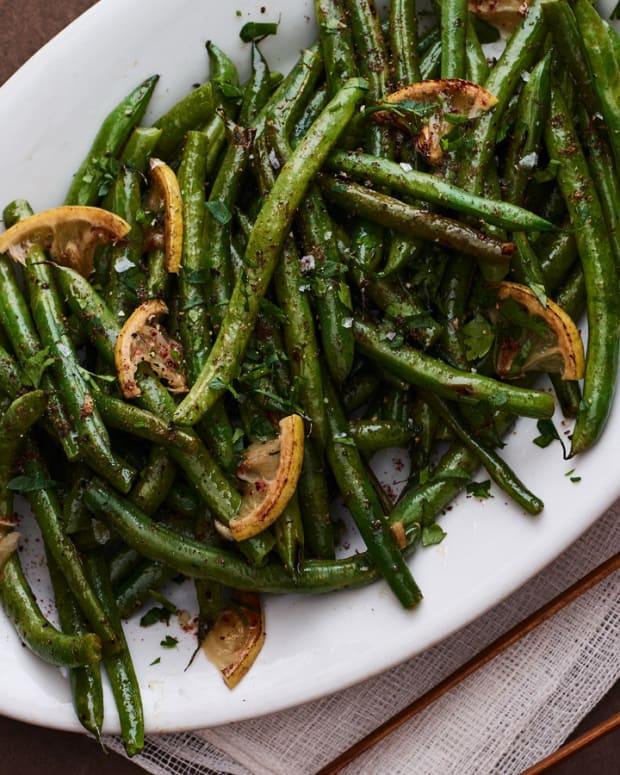 Sumac Green Beans