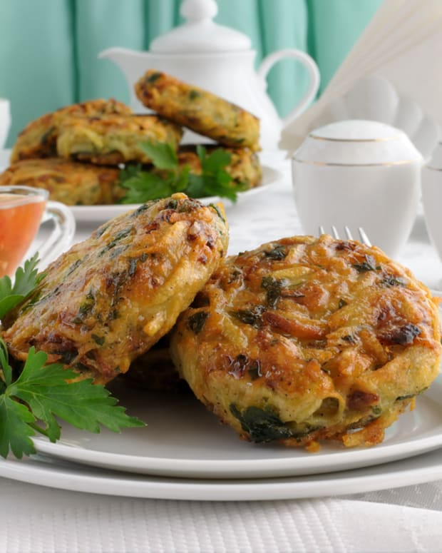 garden vegetable latkes