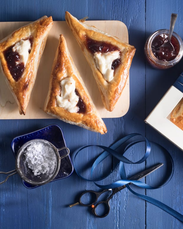 cherry cheese hamataschen hand pies