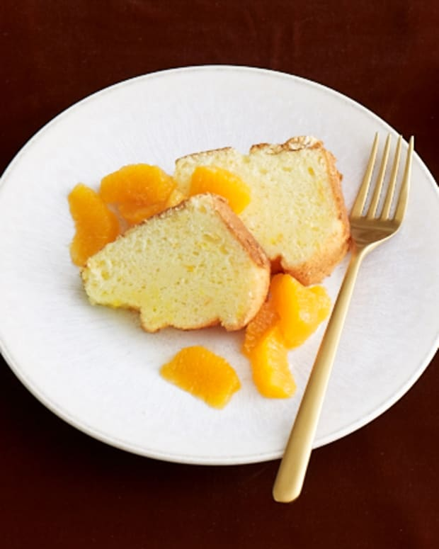 orange lemon sponge cake for Passover