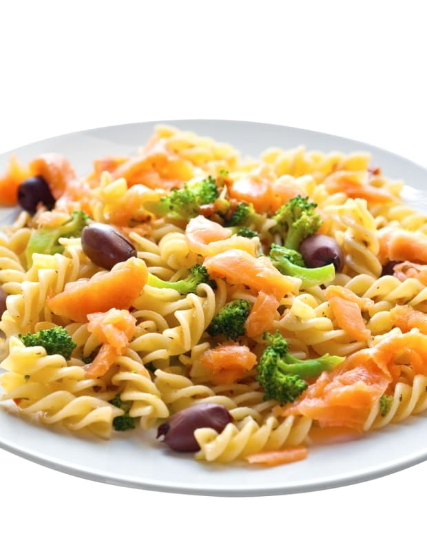 pasta salmon and dill