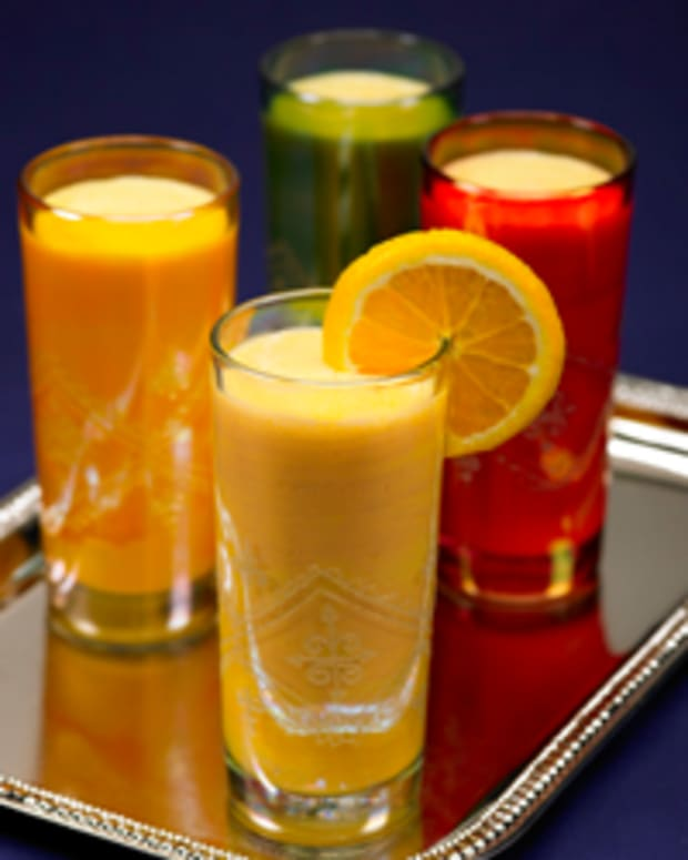 Florida Orange Mango Lassi