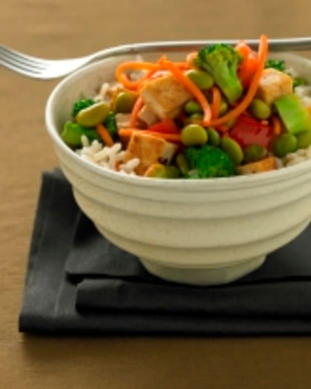Teriyaki Soy Rice Bowl