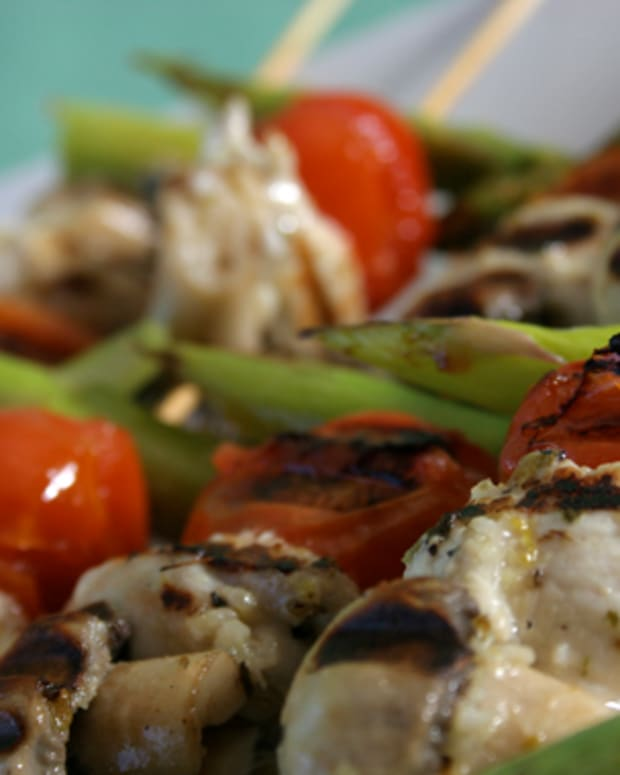 Grilled Citrus Chicken Skewers