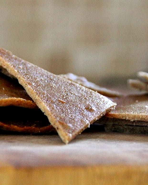 almond tuille