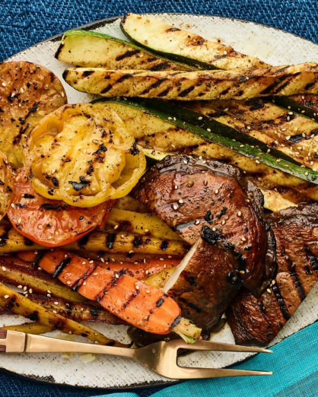 Grilled Vegetable Platter for your next Summer BBQ