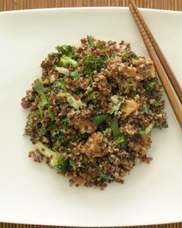 fried quinoa