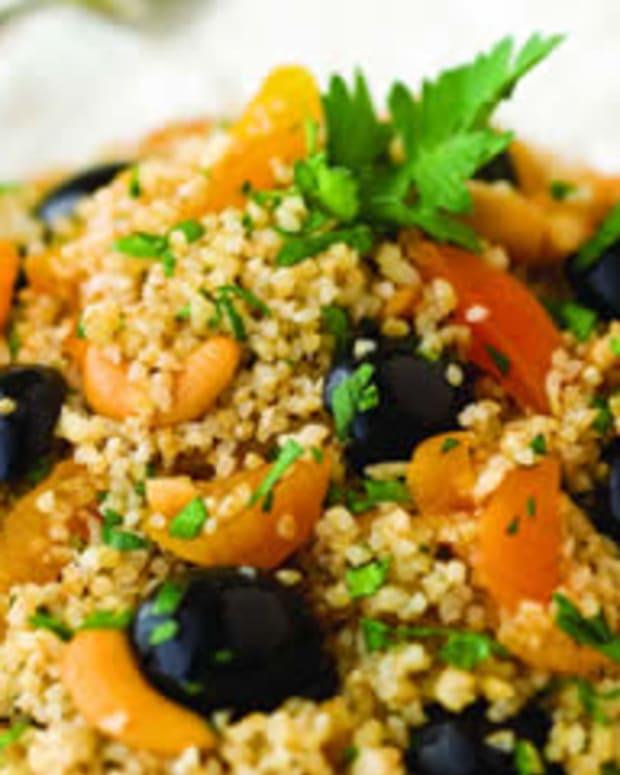 Arabian Apricot Olive Bulgur