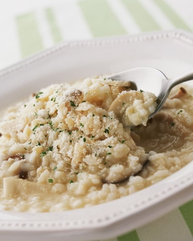 Risotto with Wild Mushrooms