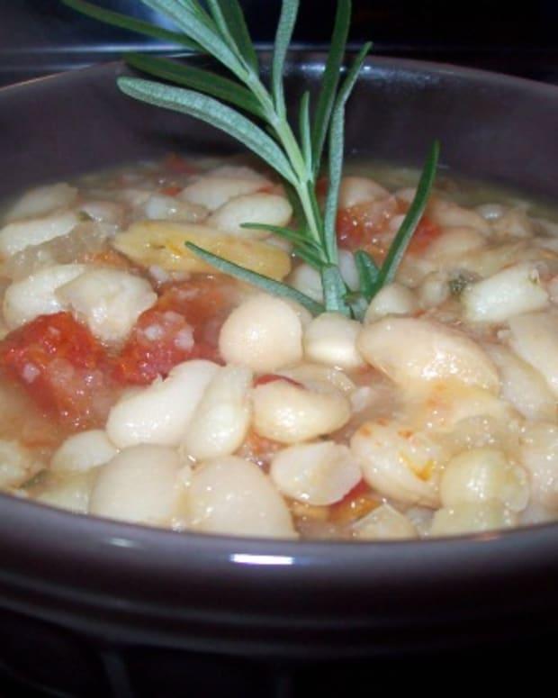 Tuscan White Bean Cholent