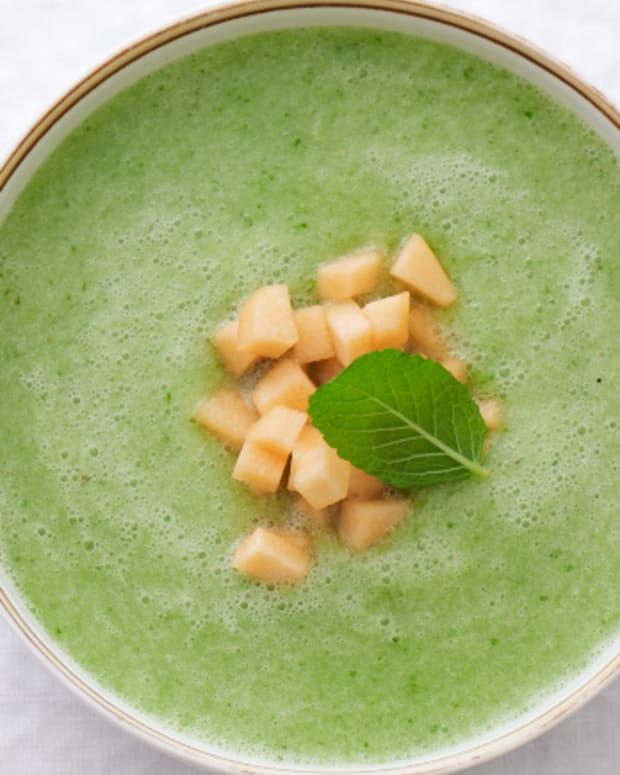 cucumber melon soup