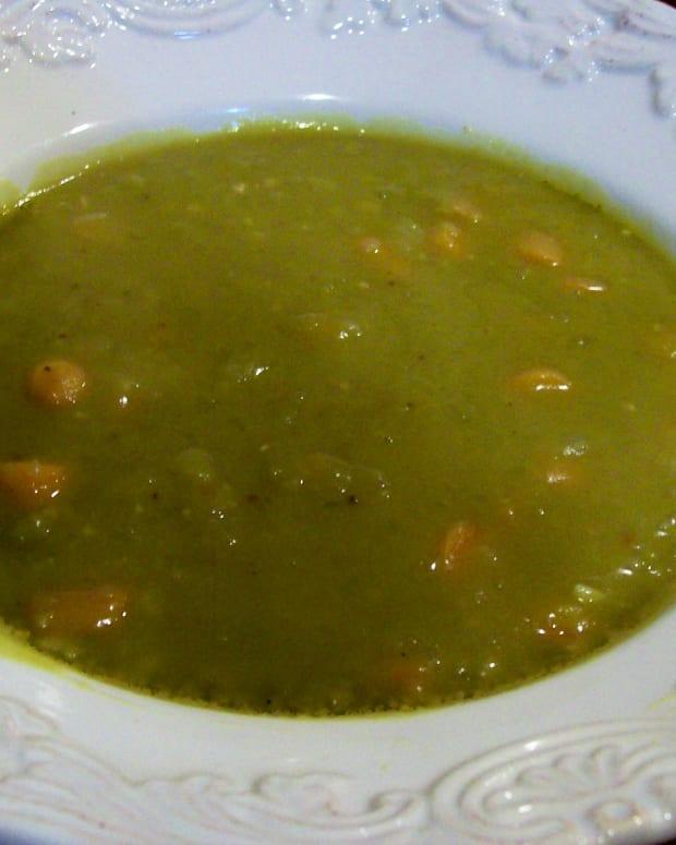 Split Pea Soup – Pressure Cooker