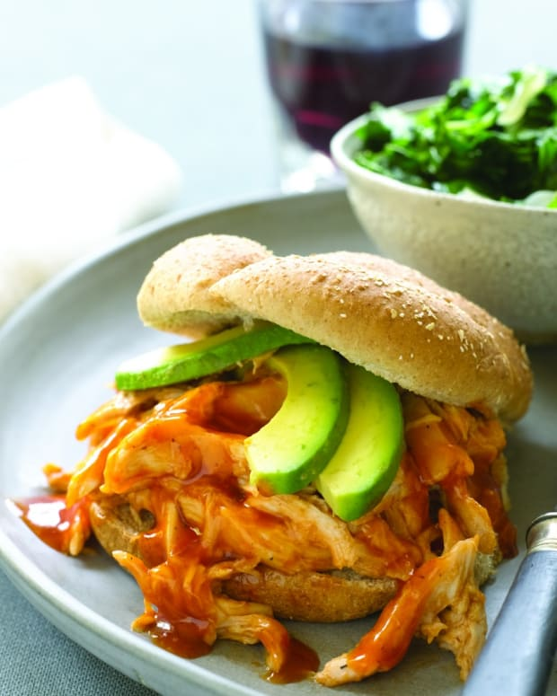 BBQ Pulled Chicken Sandwich