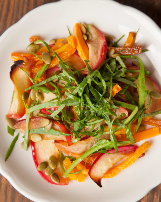 Roasted Apple and Butternut Salad