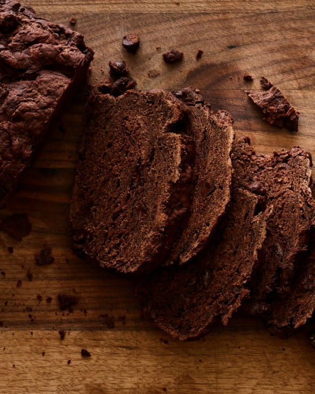 No Knead Chocolate Bread