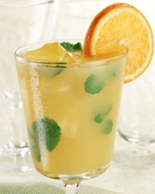 Mint Orange Agave Cooler