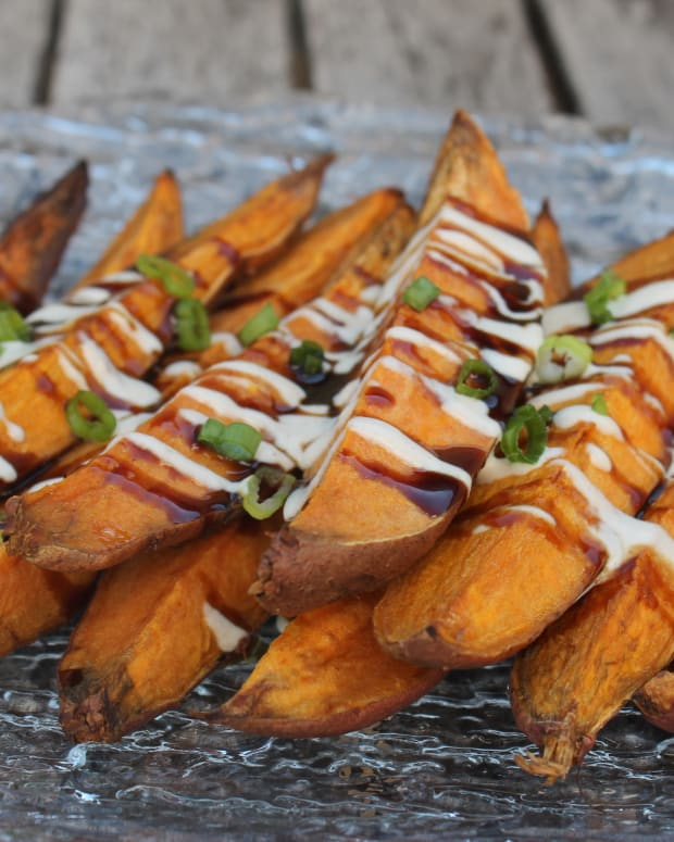 Sweet Potato Fingers