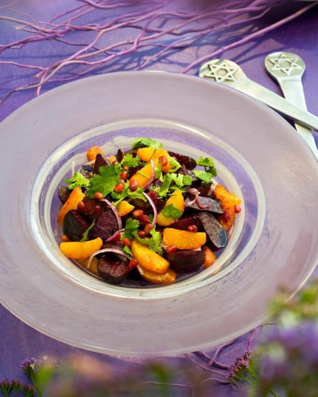 beet fruit salad