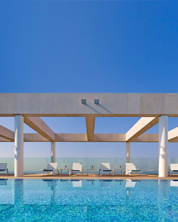 Ritz Carlton Herzliya Rooftop Pool