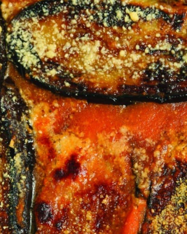 Suri's Special Eggplant Parmesan