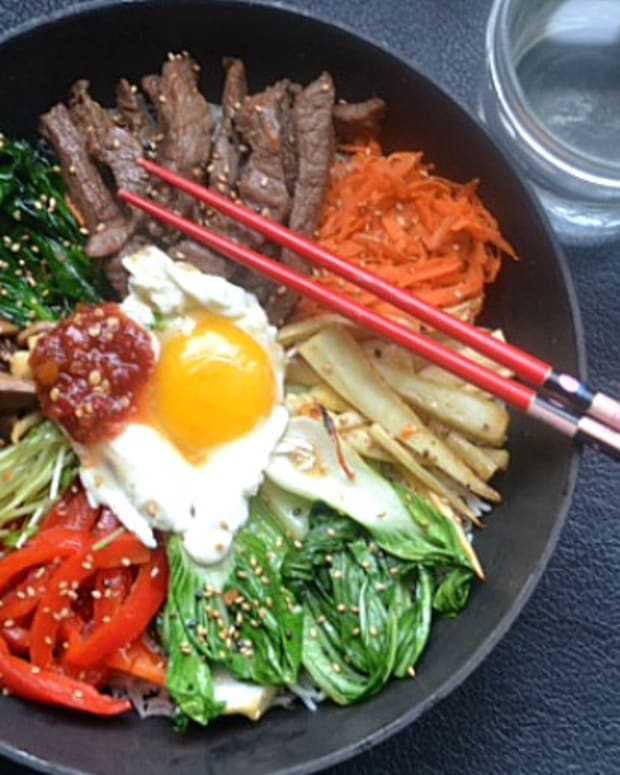 homemade bibimbop