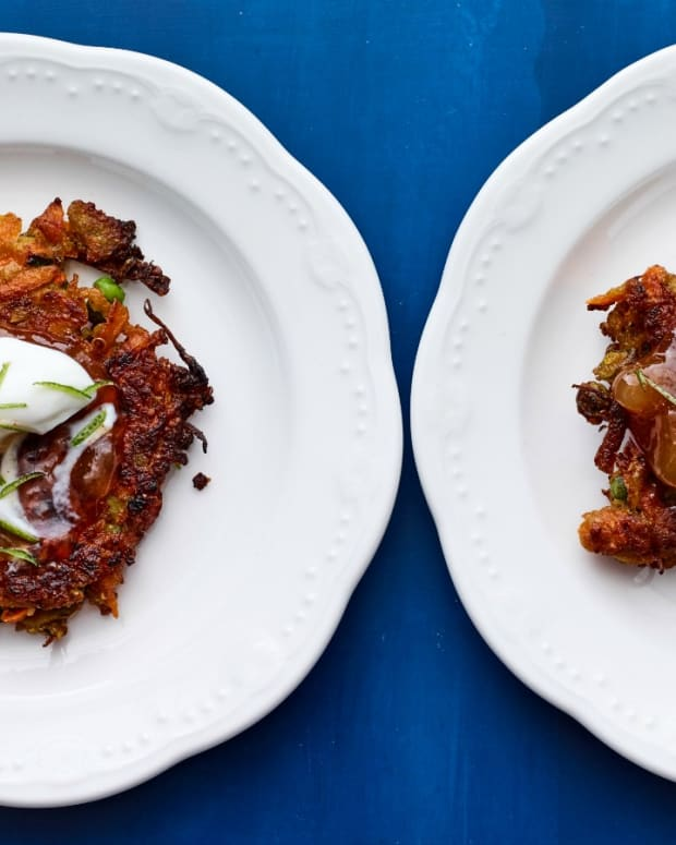 Curried Vegetable Latkes