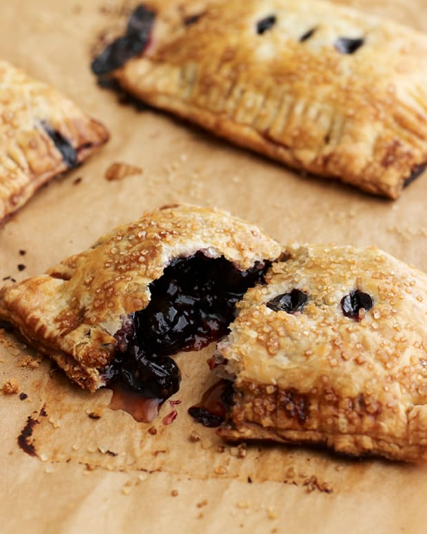 Cherry Bourbon Hand Pies