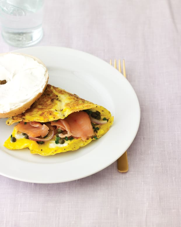 Omelet with Lox