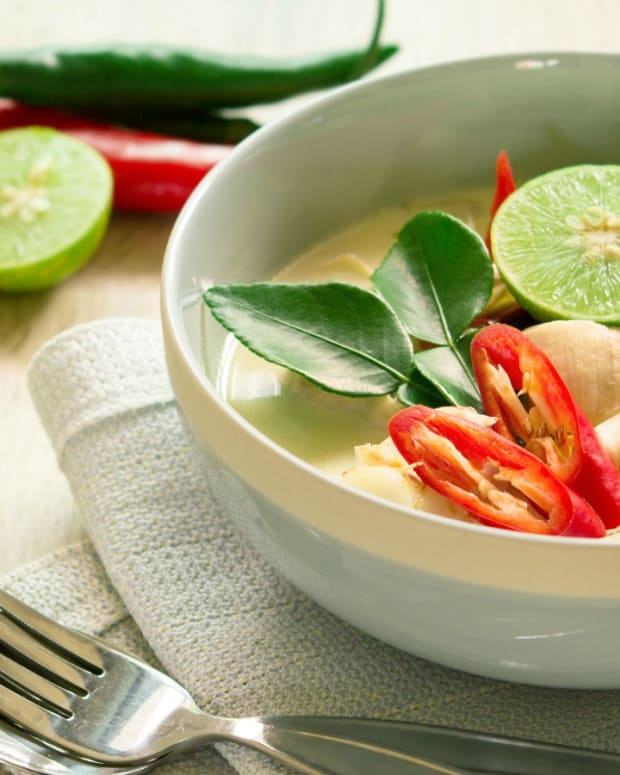 Tom Kha Gai - Thai Coconut Soup vegetarian