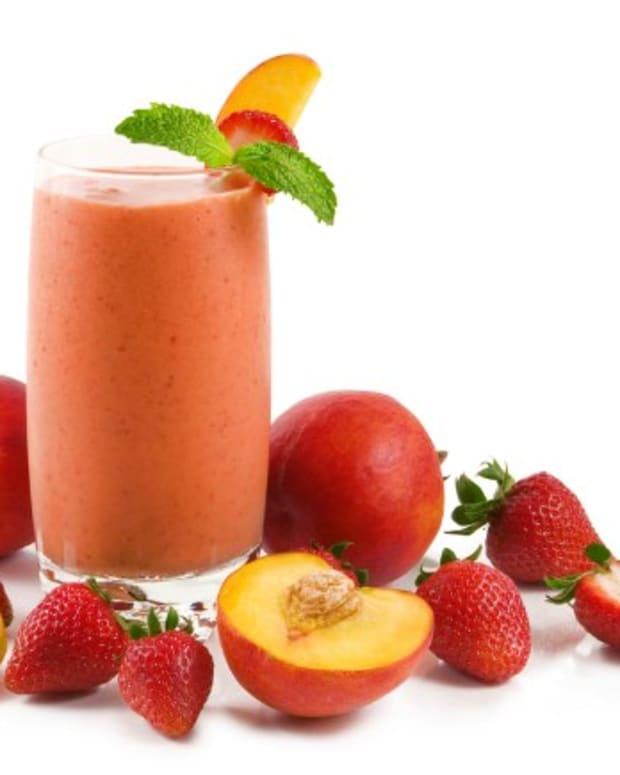 strawberry peach daiquiri
