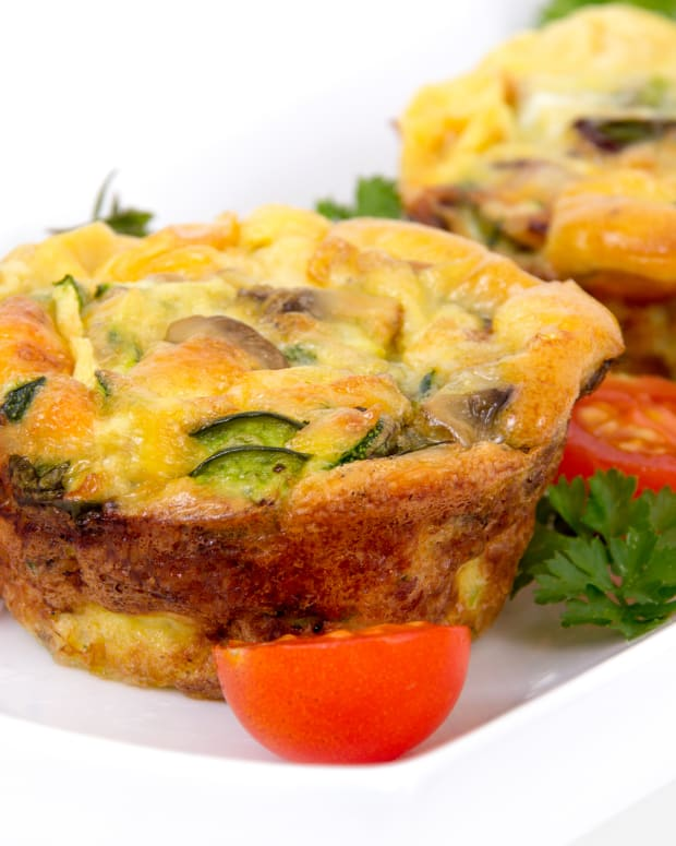 Light Veggie Quiche