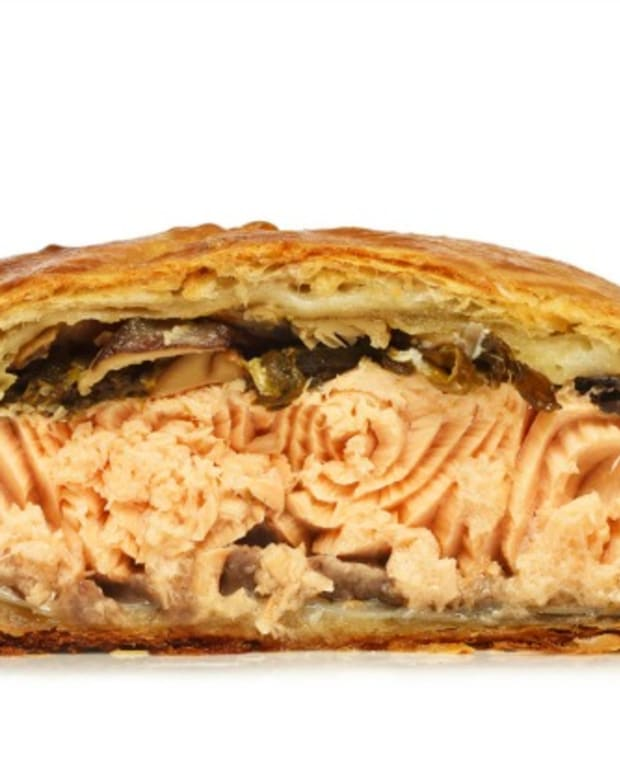 The Modern Menu Salmon en Croute