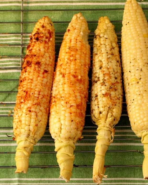 flavored corn on the cob
