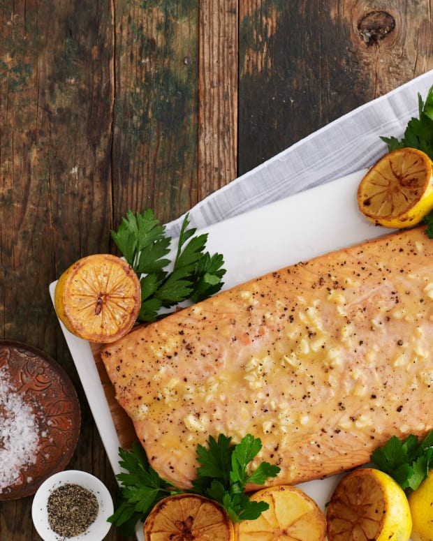 Honey Baked Salmon Large