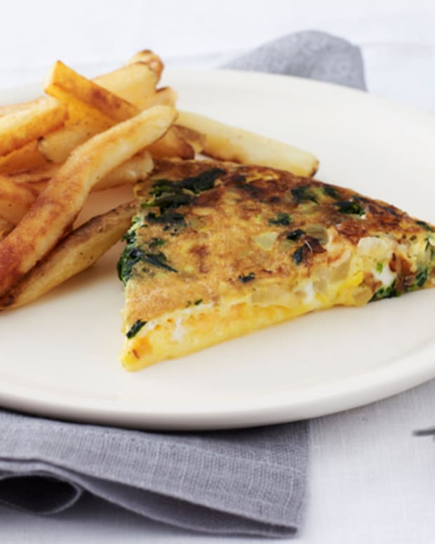 Potato and Cheddar Frittata