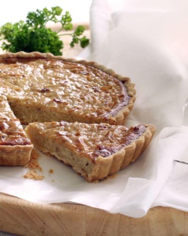 french onion quiche