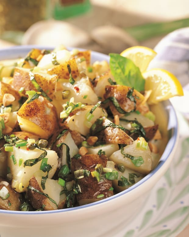 Almond Caper Potato Salad