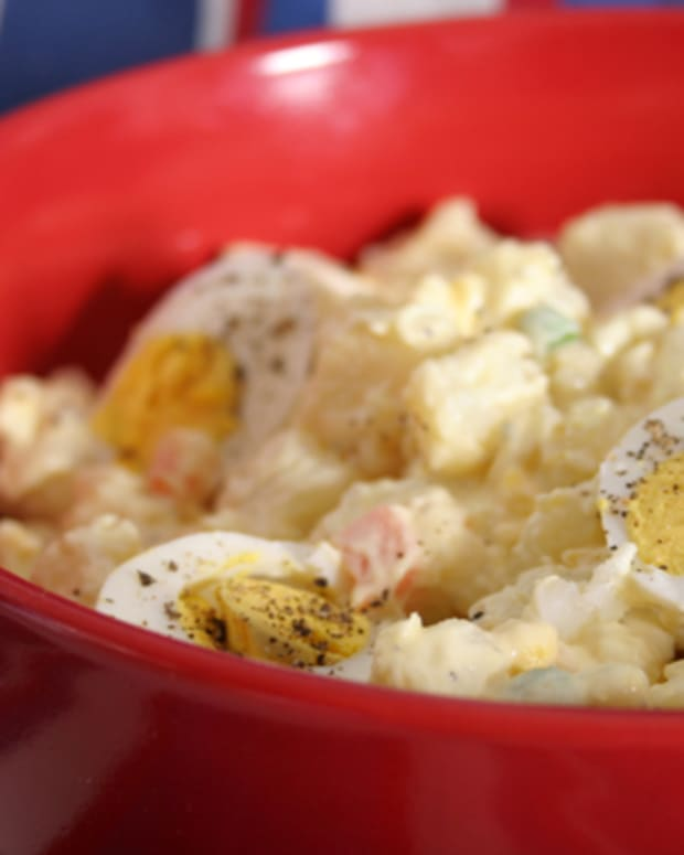 Creamy Vegetable Potato Salad