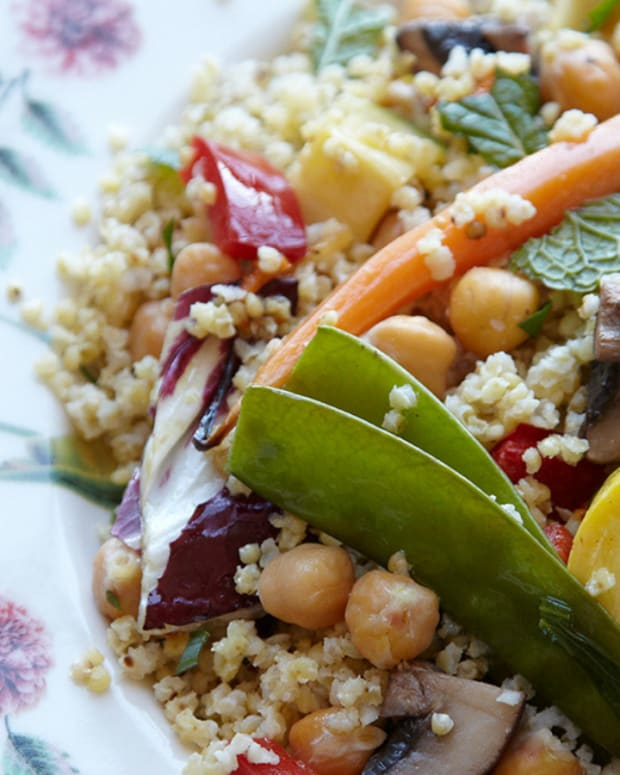 ROASTED CHICKPEA MILLET SALAD