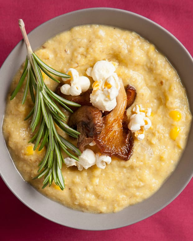 Chilled corn chowder